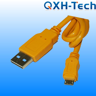 USB2.0 A Male to Micro 5pin Male Cable