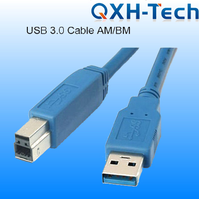 USB3.0 A Male to B Male Cable